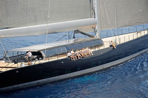 Biggest Charter Boat In The World by The 10 Largest Sailing Yachts In The World French