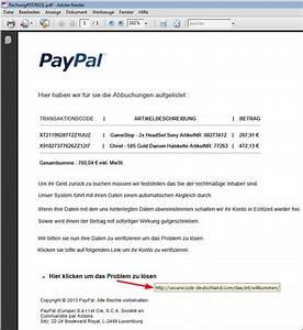 Paypal Plus Rechnung : paypal phishing versuch inkl rechnung im dateianhang mimikama ~ Themetempest.com Abrechnung