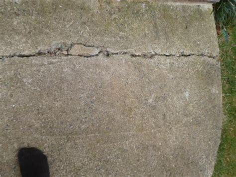 diy sidewalk driveway repair doityourself