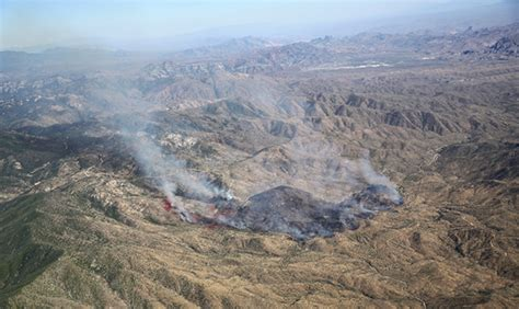 Woodbury Fire East Of Phoenix Grows To 5,000 Acres