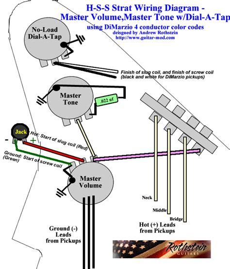 Push Pull Volume Wiring Diagram Stratocaster Hss Online