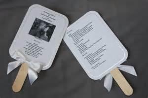 how to make wedding program fans wilton print your own fan kit printable