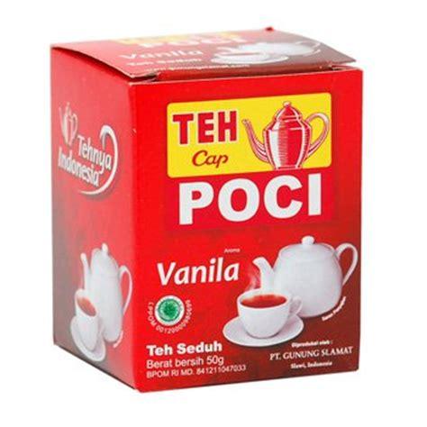 poci teh seduh vanila 50g teh seduh rasa vanila cap poci brewed tea vanilla