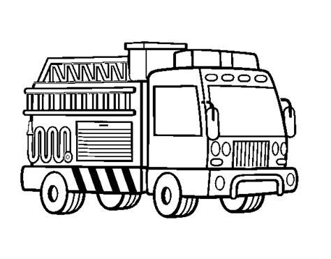 disegni da colorare camion dei pompieri disegno di un camion dei pompieri da colorare acolore