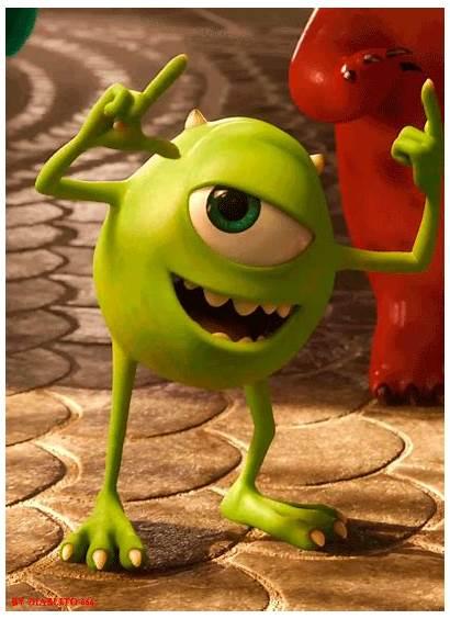 Mike Pixar Disney Characters Monsters Character Wazowski