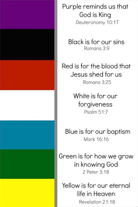 colors of the bible 25 best ideas about salvation bracelet on
