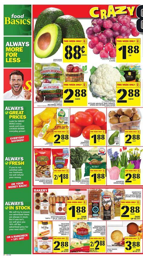 basics of cuisine food basics flyer january 28 to february 3