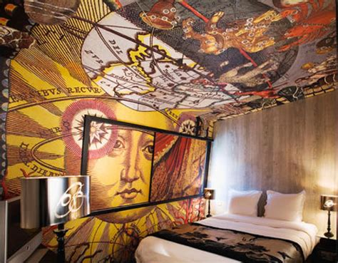 Mod 007 To Dreamy Decoupage: 12 (more!) Artsy Hotel Rooms