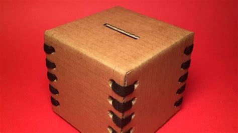 cool cardboard money box diy crafts