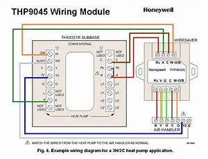 Honeywell Th9421c1004 Wiring Diagram
