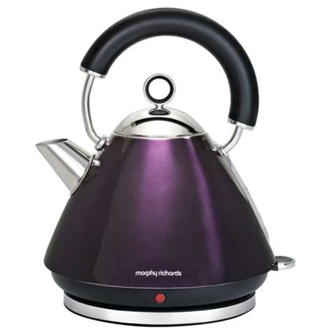 Morphy Richards Wasserkocher by Morphy Richards 43769 Accents Traditional Kettle Plum