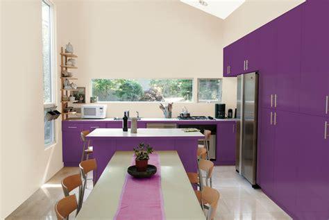 deco cuisine violet et si on repeignait la cuisine en prune la peinture qui