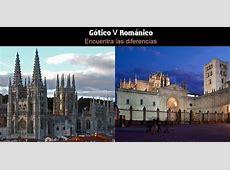 ¿ Gótico o románico ? Como distinguirlos en la