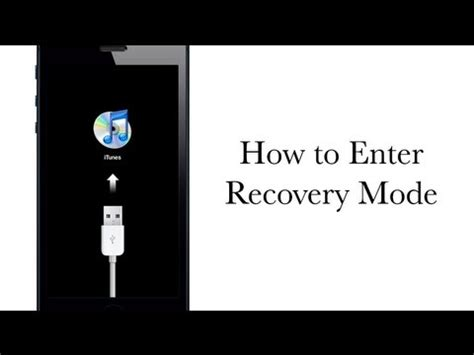 how to put a iphone in recovery mode how to put your iphone or ipod touch in recovery