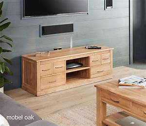 Widescreen Oak TV Cabinet Solid Oak Iwoodbuyitbiz