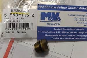 Nilfisk Hochdruckreiniger Erfahrung : hochdruckreiniger center mittelhessen original k rcher ventilschraube valve screw ~ Watch28wear.com Haus und Dekorationen
