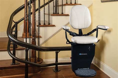 curved rail stair lifts stairlift for curved stairs
