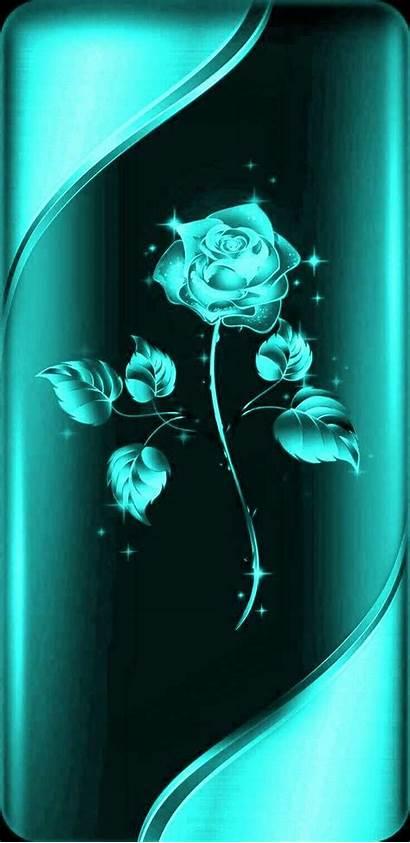 Aqua Iphone Phone Wallpapers Rose Pretty Case