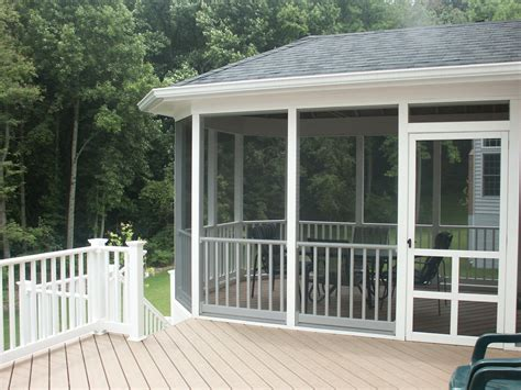 screening in a porch deck designs designs for screened in porches with deck