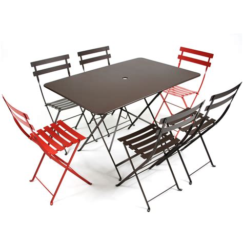 chaise bistro fermob fermob bistro folding table connox