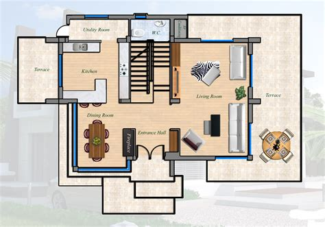 villa floor plans east coast ultra modern villa 4 bed cyprus property