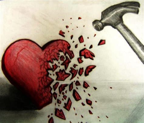 confuse  depressed brain   broken heart
