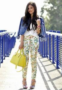 mode femme des idees simples pour rester jeune With chambre bébé design avec pantalon femme fleuri