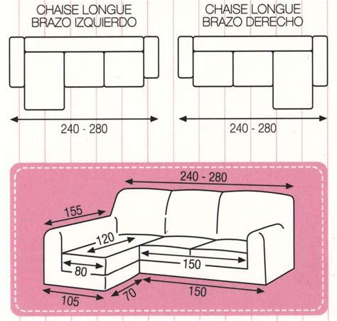 sofa 3 plazas chaise longue medidas funda de sof 225 chaise longue el 225 stica tejido urano medida