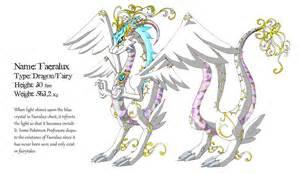 dragon fairy type pokemon faeralux