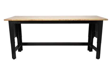 craftsman   adjustable height workbench shop
