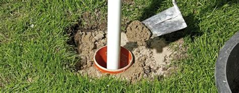 zaunpfosten einbetonieren anleitung anleitung fundament f 252 r zaunpfosten betonieren diy info
