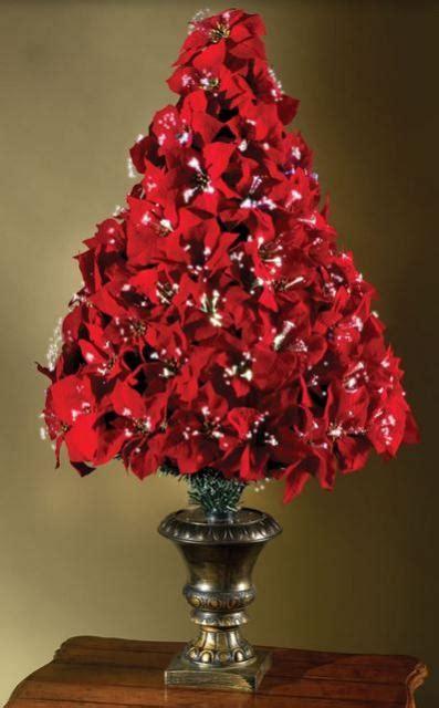 fiber optic poinsettia christmas tree jpg