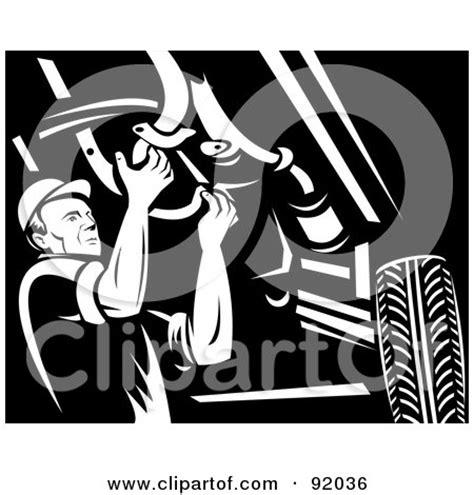 mechanic clipart black and white auto repair clip 61