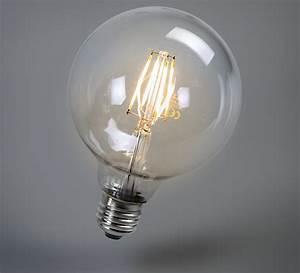 Ampoule Led Design : ampoules led globo filament 12 5cm faro luminaires nedgis ~ Melissatoandfro.com Idées de Décoration