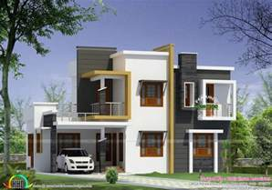 modern style home plans home design box type modern house plan kerala home design and floor plans foxy boxtype kerala