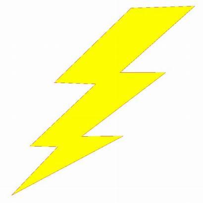 Lightning Bolt Flash Printable Clipart Template Clip