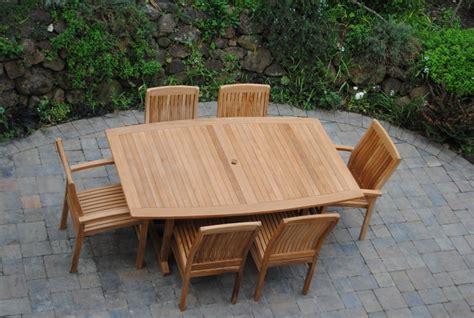 curved edge table paradise teak