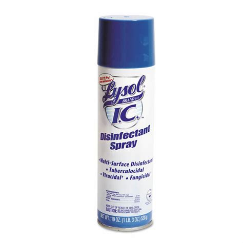 I.C. Disinfectant Spray - (12) 19 oz. Aerosol Cans