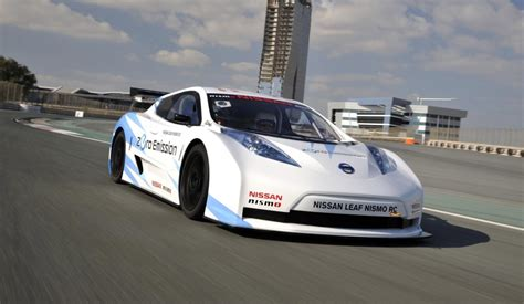 nissan maxima race car nissan gives update on leaf nismo rc electric racer video