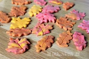 Cinnamon Salt Dough Leaf Ornaments - The Imagination Tree