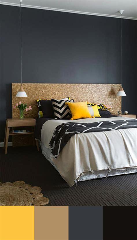 chambre design gris chambre gris fonce et beige design de maison