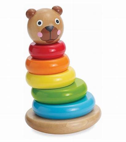 Manhattan Bear Toy Stack Brilliant Magnetic