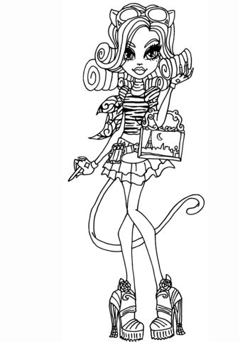Catherine DeMew coloring page Free Printable Coloring Pages