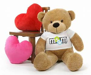 Shaggy M Cuddles Amber Mothers Day Teddy Bear Gift with ...
