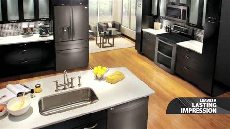 lg black stainless steel kitchen appliances youtube