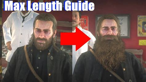 red dead redemption    grow beard   max