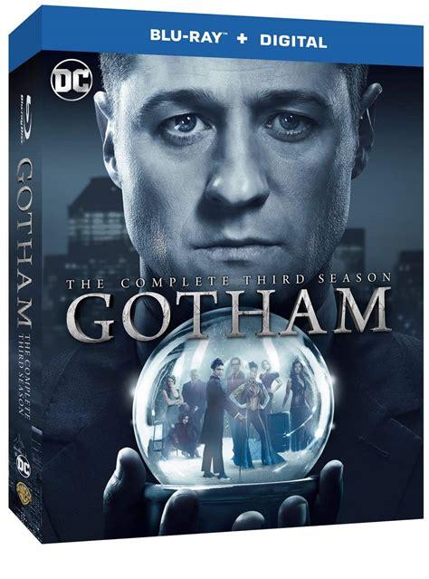 Gotham Season 3 Bluray And Dvd Release Details Seat42f