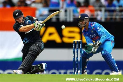 Nz Vs Ind
