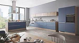 Großes Waschbecken Küche : gro e l insel k che blau lack matt f r nur 8888 beste ~ Michelbontemps.com Haus und Dekorationen
