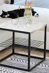 Ikea Küche Beistelltisch : diy beistelltisch mit marmorplatte ikea hack design dots ~ Michelbontemps.com Haus und Dekorationen